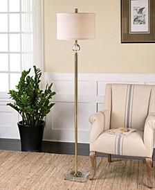 Mesita Brass Floor Lamp