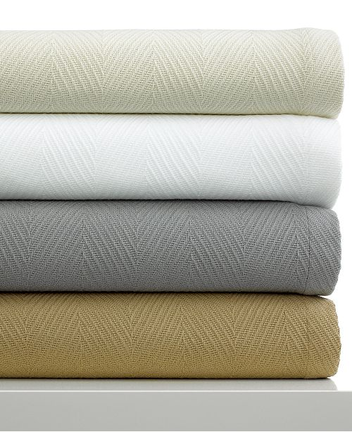 Hotel Collection CLOSEOUT! Microcotton® Blankets, Created for Macy's