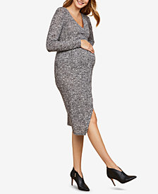 Jessica Simpson Maternity Wrap Dress