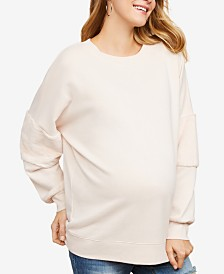 Jessica Simpson Maternity French Terry Sweatshirt