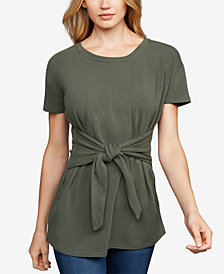 A Pea In The Pod Tie-Front Nursing Top