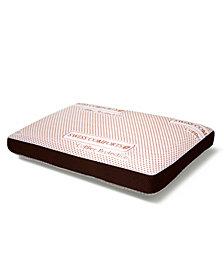 "Swiss Comforts Copper Memory Foam Pillow, 22""X14"""