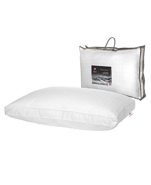 """Swiss Comforts Renaissance Gusset Soft Cotton Pillow, 20""""X36"""""""
