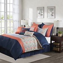 Nanshing Dascha 10 PC Comforter Set, King