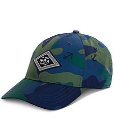 Nautica Men's Camo-Print Anchor Cap