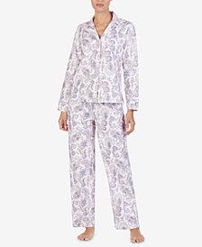 Lauren Ralph Lauren Cotton Printed Pajama Set