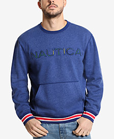 Nautica Men's Logo Pocket Sweatshirt