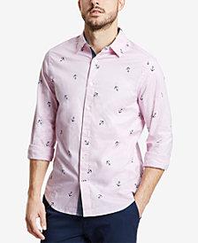 Nautica Men's Mini Anchor-Print Shirt