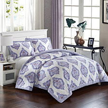 LUX-BED Grand Palace 3 Pc King Duvet Cover Set