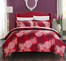 Chic Home Jerome 3 Piece Queen Duvet Cover Set