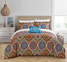 Chic Home Shulamit 4 Pc Queen Duvet Cover Set