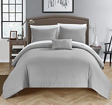 Chic Home Bea 4 Pc Queen Duvet Cover Set