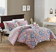 Chic Home Bristol 4-Pc. Duvet Cover Sets