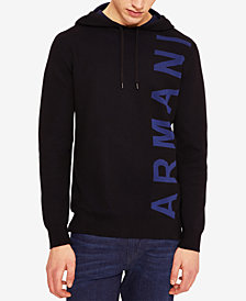 A|X Armani Exchange Men's Logo Hoodie