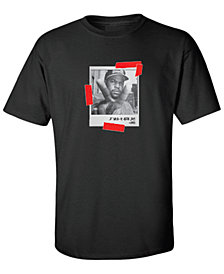 Ice Cube Peace Sign Mens Graphic T-Shirt