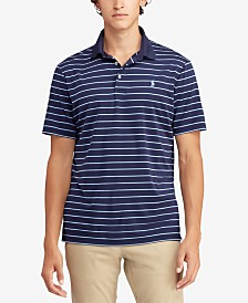 Polo Ralph Lauren Men's Classic Fit Striped Performance Polo