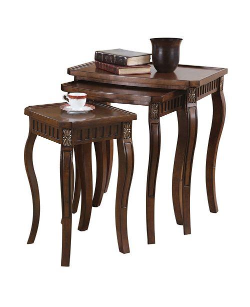 Coaster Home Furnishings Mya Traditional Nesting Table