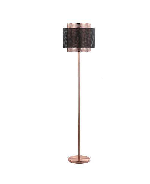 "JONATHAN Y Tribeca 60.5"" Metal LED Floor Lamp"