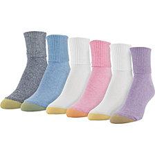 Gold Toe 6-Pk. Casual Turn-Cuff Socks 4341F8