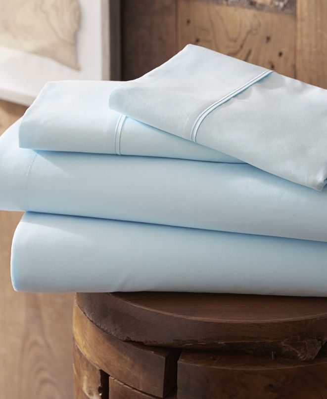 ienjoy Home Style Simplified by The Home Collection 4 Piece Bed Sheet Set, Full