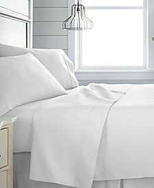 Home Collection 300 Thread Count 3 Piece Bed Sheet Set - 100% Cotton, Twin