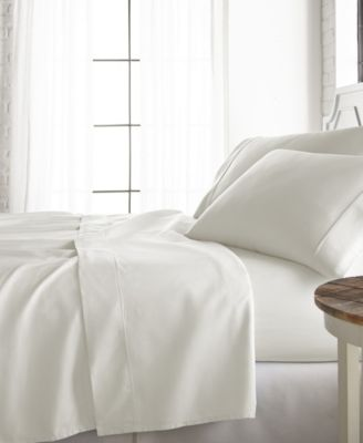 Home Collection 800 Thread Count Cotton Blend 3-Piece Sheet Set, Twin