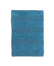 Wide Cut 21x34 Cotton Bath Rug