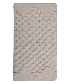 Melange 17x24  Cotton Bath Rug