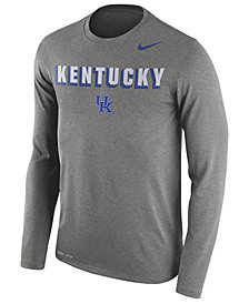 Nike Men's Kentucky Wildcats Dri-Blend Long Sleeve T-Shirt