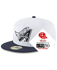 New Era Los Angeles Angels Retro Classic Batting Practice 59FIFTY Fitted Cap