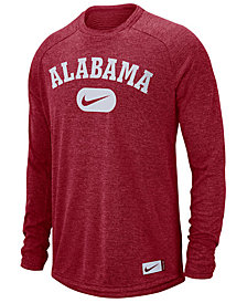 Nike Men's Alabama Crimson Tide Stadium Long Sleeve T-Shirt