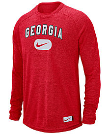 Nike Men's Georgia Bulldogs Stadium Long Sleeve T-Shirt
