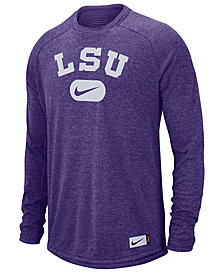 Nike Men's LSU Tigers Stadium Long Sleeve T-Shirt