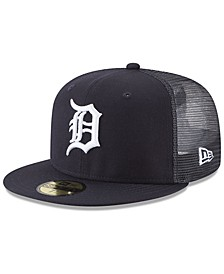 Detroit Tigers On-Field Mesh Back 59FIFTY Fitted Cap
