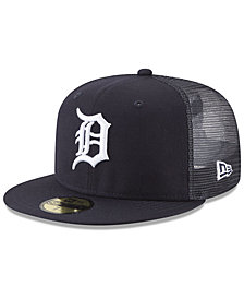 New Era Detroit Tigers On-Field Mesh Back 59FIFTY Fitted Cap
