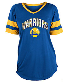 5th & Ocean Women's Golden State Warriors Mesh T-Shirt