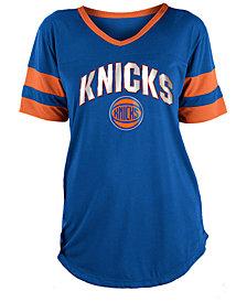 5th & Ocean Women's New York Knicks Mesh T-Shirt