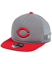 New Era Cincinnati Reds Classic Trucker 9FIFTY Snapback Cap