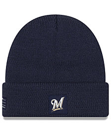New Era Milwaukee Brewers Sport Knit Hat