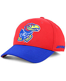 adidas Kansas Jayhawks Coaches Flex Stretch Fitted Cap 2018