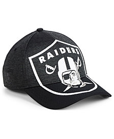 New Era Oakland Raiders Oversized Laser Cut Logo 39THIRTY Cap