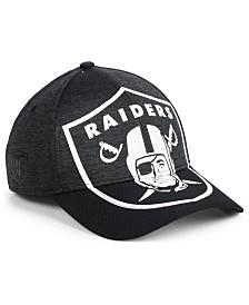 126062bd1c9 New Era Women s Oakland Raiders Gray Glitter 9TWENTY Cap - Sports ...