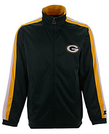 Starter Men's Green Bay Packers The Challenger Track Jacket
