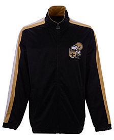 Starter Men's New Orleans Saints The Challenger Track Jacket