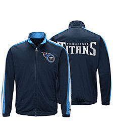 Starter Men's Tennessee Titans The Challenger Track Jacket