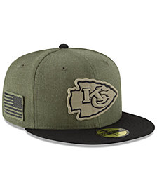 New Era Kansas City Chiefs Salute To Service 59FIFTY FITTED Cap