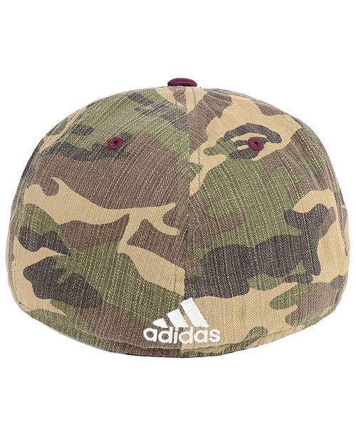 7bc43c9d192 adidas Mississippi State Bulldogs Stadium Performance Camo Fitted ...