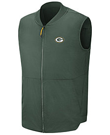 Nike Men's Green Bay Packers Sideline Coaches Vest