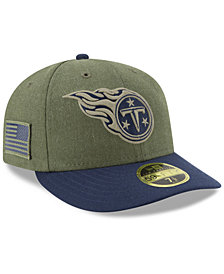 New Era Tennessee Titans Salute To Service Low Profile 59FIFTY Fitted Cap 2018