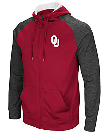 Colosseum Men's Oklahoma Sooners Magic Rays Full-Zip Hooded Sweatshirt